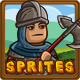 Medieval Game Sprites Characters collection #4 - GraphicRiver Item for Sale