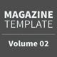 Magazine Template - Volume 02 - GraphicRiver Item for Sale