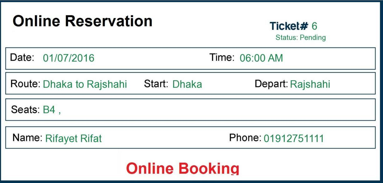 Ebus  Online Bus Reservation  Ticket Booking System By Rifat