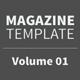 Magazine Template - Volume 01 - GraphicRiver Item for Sale