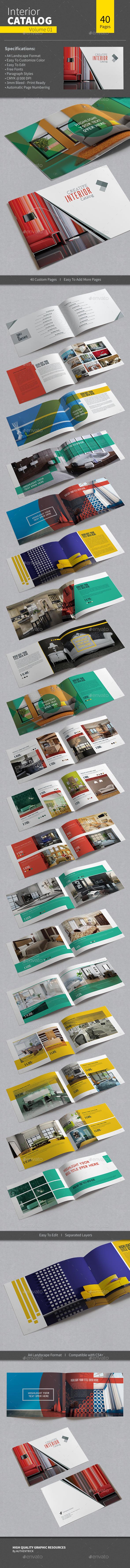 Interior Catalog - Volume 01 - Catalogs Brochures