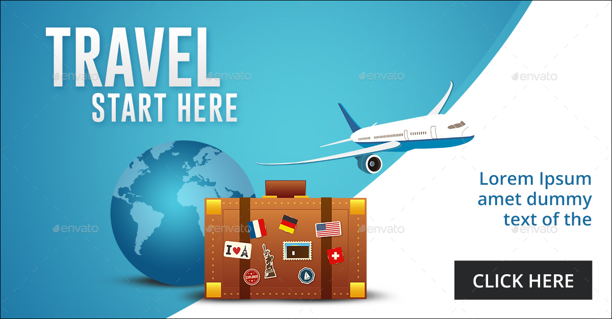 tours  u0026 travels banners by doto