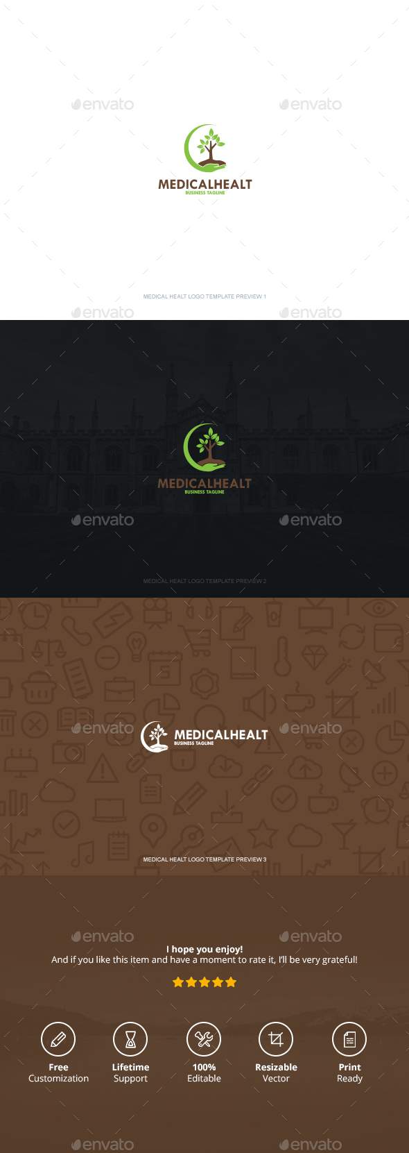 Medical Healt Logo - Symbols Logo Templates