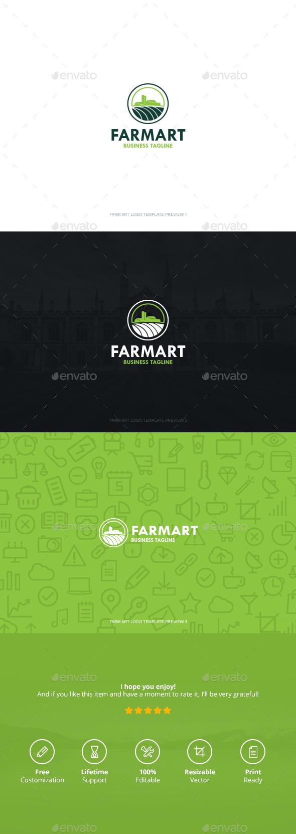 Farm Art Logo - Symbols Logo Templates