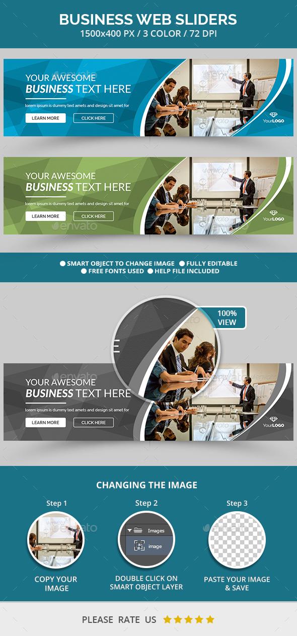 Web Business Slider - Sliders & Features Web Elements