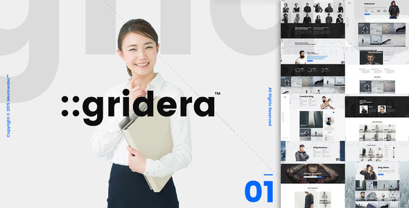 ::gridera — WordPress Theme
