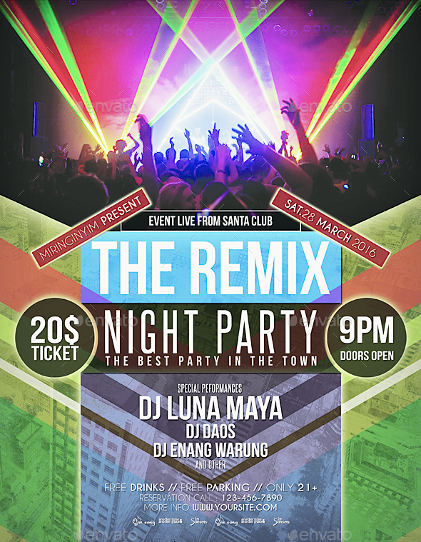Night Party Flyer / Poster