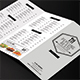 Trifold Minimalist Menu - GraphicRiver Item for Sale