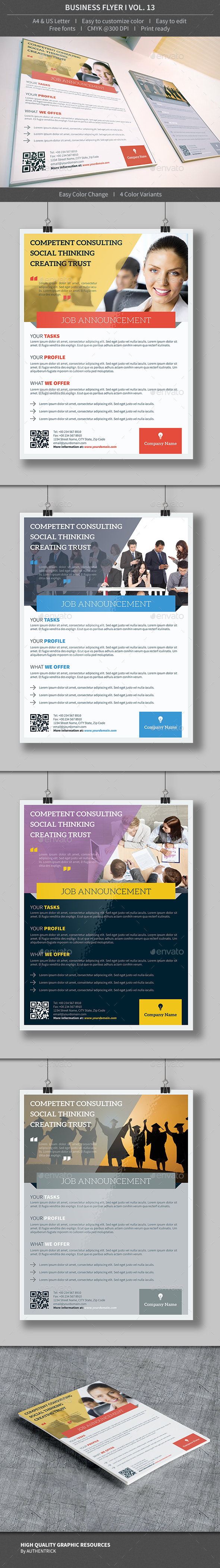 Business Flyer - Volume 13 - Corporate Flyers