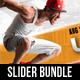 2 in 1 Ultimate Parkour Free Running Slider Bundle - GraphicRiver Item for Sale