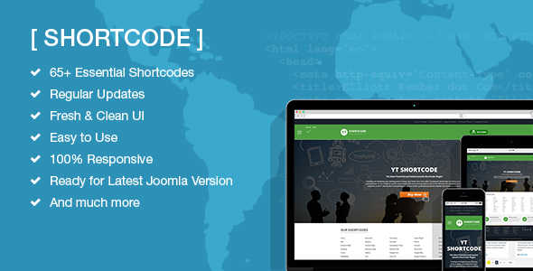 YT Shortcode Ultimate Plugin for Joomla