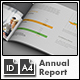 Annual Report Template m1 - A4 Landscape - GraphicRiver Item for Sale
