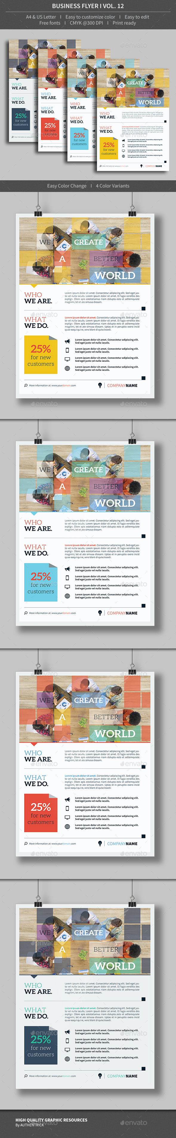 Business Flyer - Volume 12 - Corporate Flyers