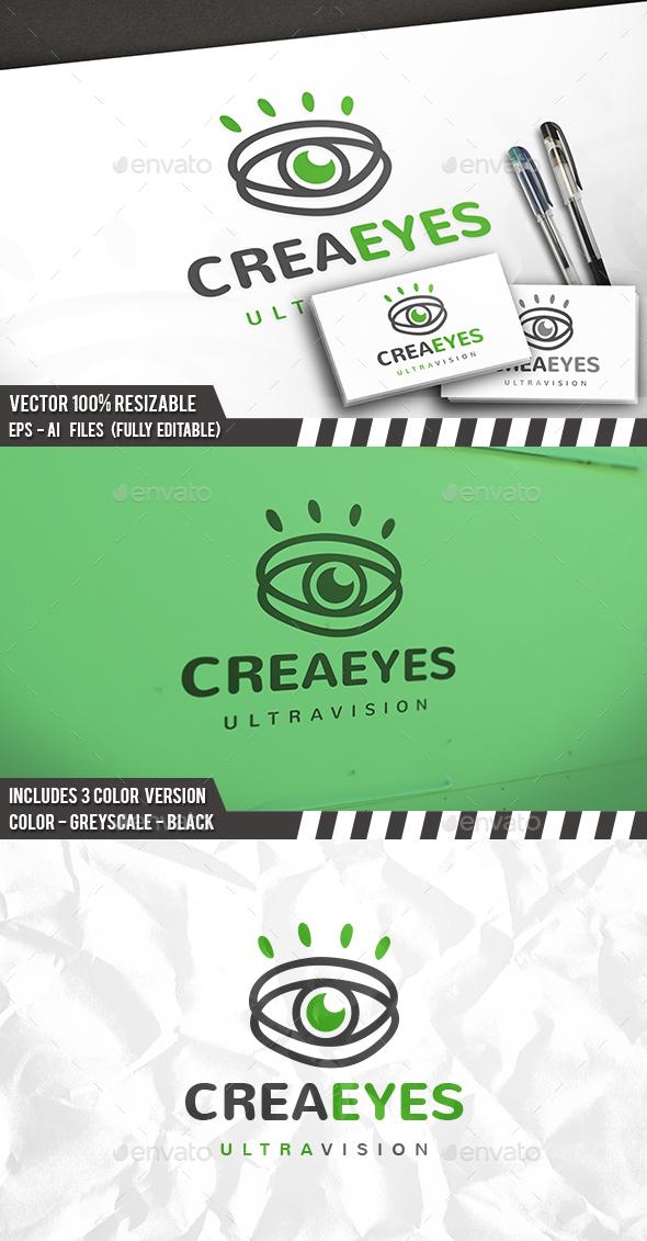 Creative Eye Logo - Objects Logo Templates