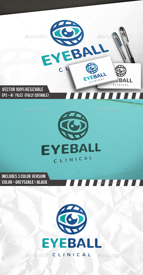 Eye Ball Logo - Symbols Logo Templates