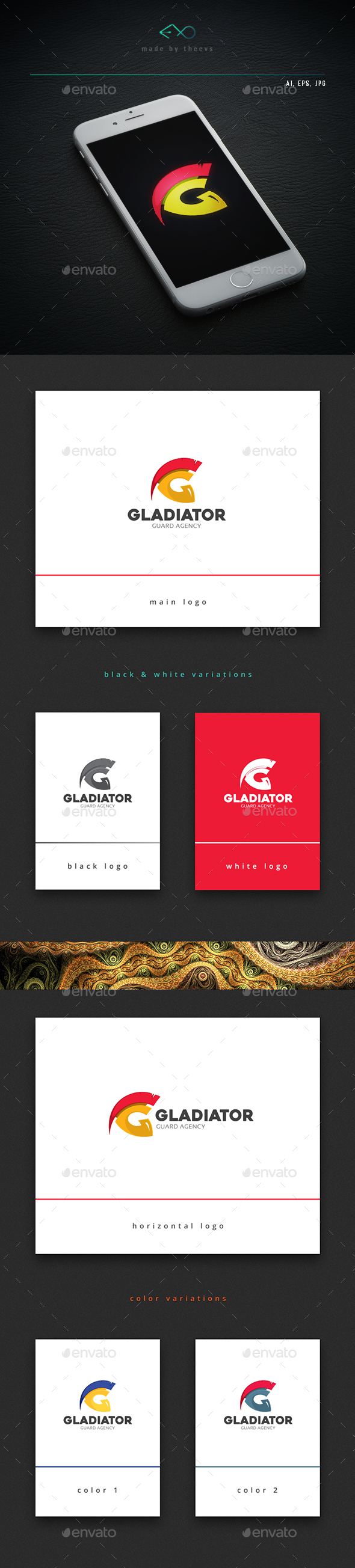 Gladiator - Objects Logo Templates