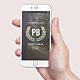 iPhone 6 Mockup Hand Hold - GraphicRiver Item for Sale