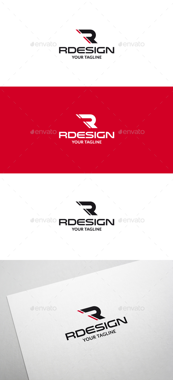 Rdesign r letter logo v2 by flatos graphicriver rdesign r letter logo v2 letters logo templates thecheapjerseys Image collections
