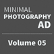 Get Minimal - Photography Ad Template 05 - GraphicRiver Item for Sale