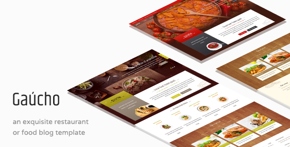 Gaucho – Food & Restaurant HTML Template