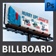 Big Sale Billboard Template - GraphicRiver Item for Sale