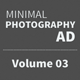 Get Minimal - Photography Ad Template 03 - GraphicRiver Item for Sale