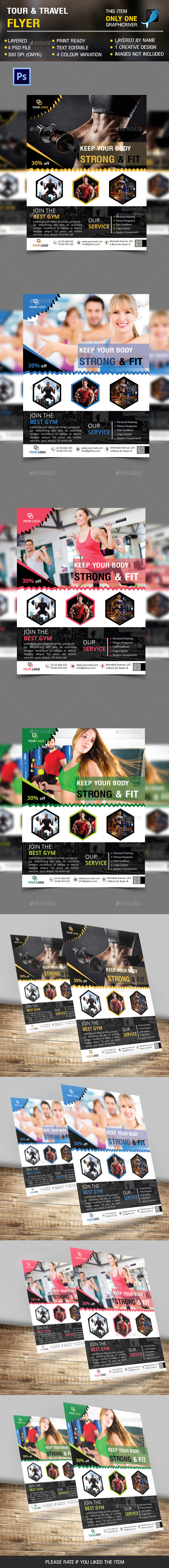 Fitness & Gym Flyer vol 3 - Sports Events