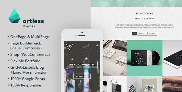 Hip - Creative OnePage / MultiPage Wordpress Theme - Portfolio Creative