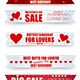Valentine's Sales Banner - GraphicRiver Item for Sale