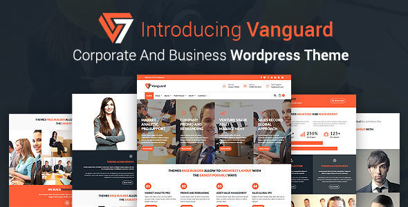 Vanguard – Business And Corporate WordPress Theme
