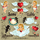 Cupid Label - GraphicRiver Item for Sale