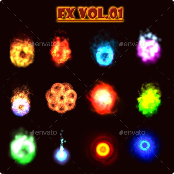 FX Vol.01 - Sprites Game Assets