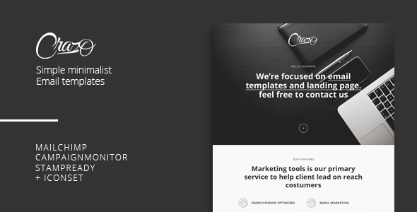 Craso - Minimalis Email Templates - Newsletters Email Templates