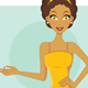 Girl Presenting - GraphicRiver Item for Sale