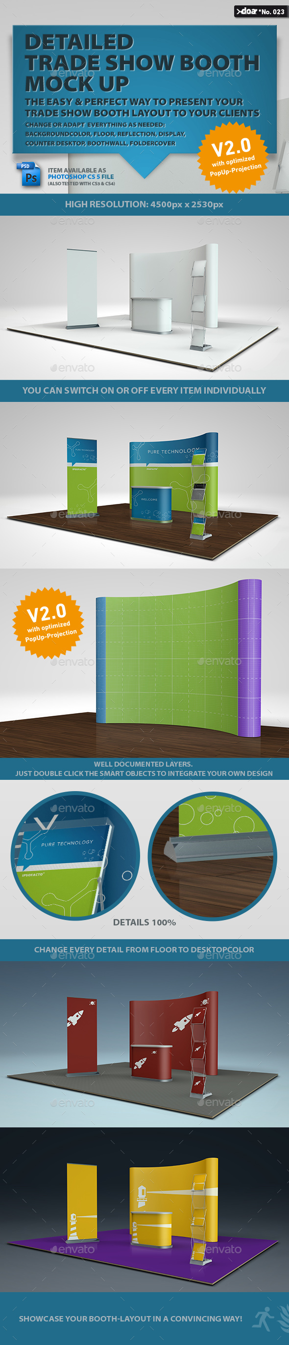 Trade Show Boot Mock-up - Miscellaneous Displays