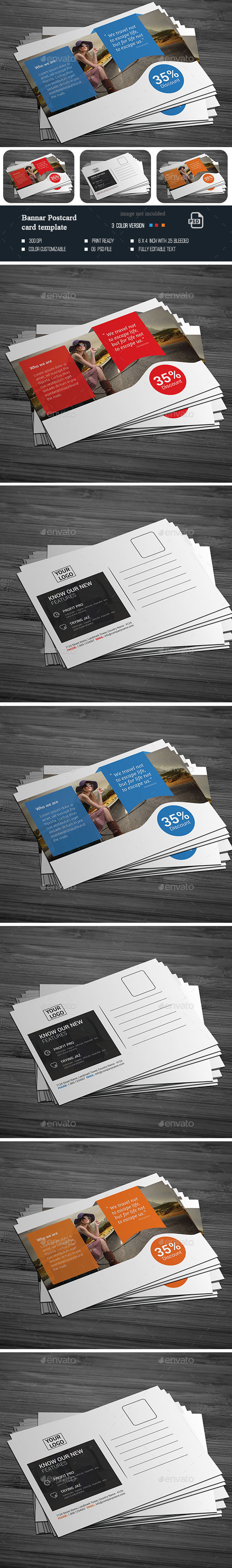 Banner Post card  - Cards & Invites Print Templates