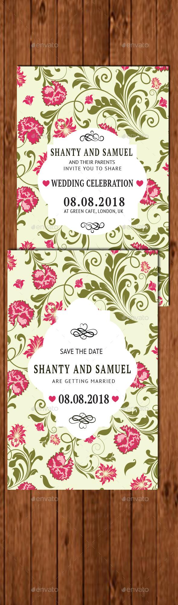 Simple Wedding Invitation 2 - Weddings Cards & Invites