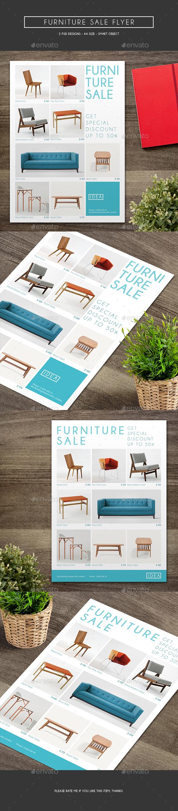 Furniture Sale Flyer - Commerce Flyers