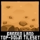 Barren Land - Top Down Tileset - GraphicRiver Item for Sale
