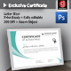 Exclusive Certificate - GraphicRiver Item for Sale