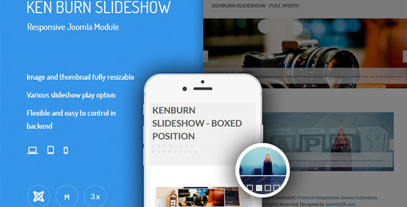 Ken Burns Slideshow - Responsive Joomla Module - CodeCanyon Item for Sale