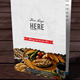 Restaurant Menu Vol 23 - GraphicRiver Item for Sale