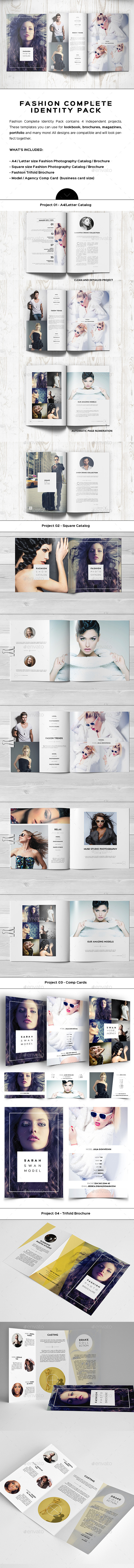 Fashion Complete Identity Pack - Catalogs Brochures