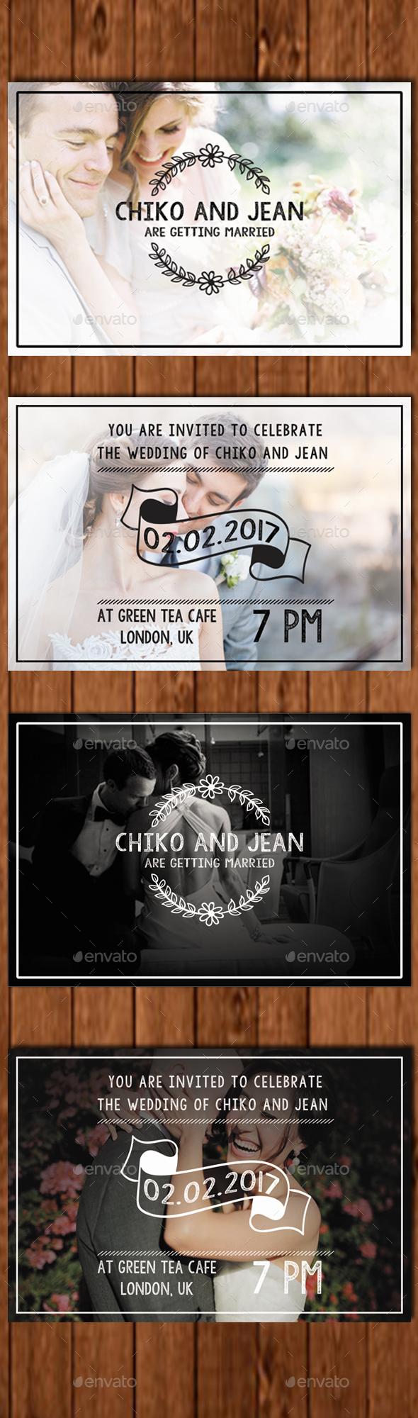 Wedding Invitation Card 2 - Weddings Cards & Invites