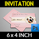 Wedding Invitation Card Template Vol.13 - GraphicRiver Item for Sale