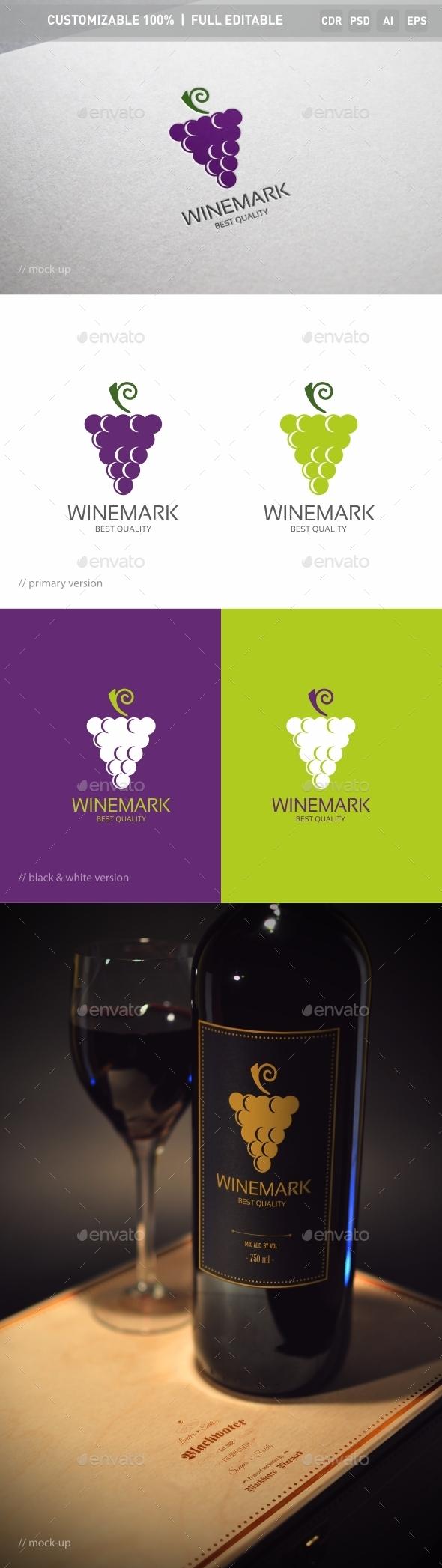 Grape Logo Template - Objects Logo Templates