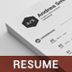 Simple Clean Resume + Cover Letter - GraphicRiver Item for Sale