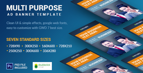 Business | HTML5 Google Banner Ad 14 - CodeCanyon Item for Sale