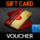 Gift Voucher Card Template Vol 21 - GraphicRiver Item for Sale