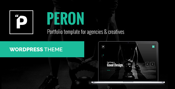Peron – Creative Multi-Purpose WordPress Theme